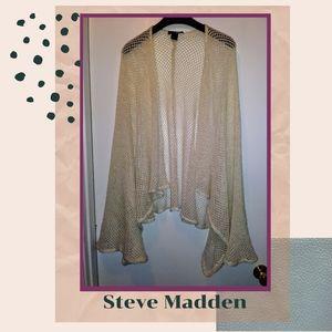 Steve Madden   Metallic Cardigan